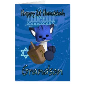 1r Fox de la tarjeta de Jánuca del nieto