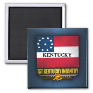1r Infantería de Kentucky Imán De Nevera