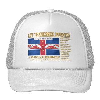 1r Infantería de Tennessee (BA2) Gorras