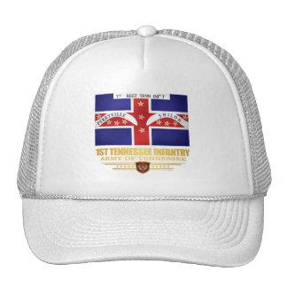 1r Infantería de Tennessee Gorra