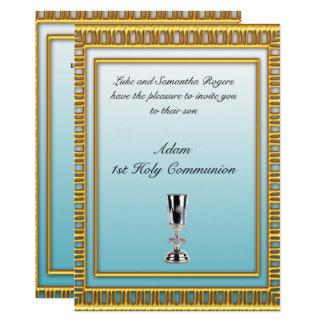 1r Invitación del fiesta de la comunión santa