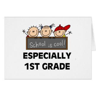 1r La escuela primaria es fresca Tarjeta De Felicitación