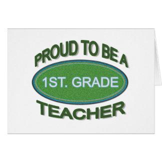 1r orgulloso Profesor del grado Felicitaciones