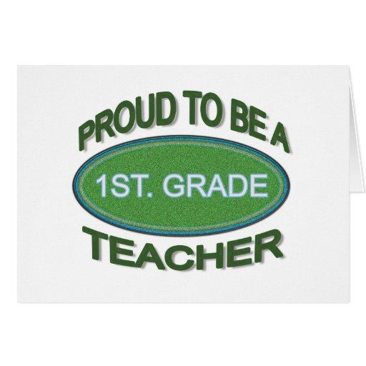 1r orgulloso. Profesor del grado Felicitaciones