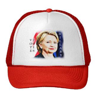 1r Presidente Hillary Clinton 2016_ de la mujer Gorro