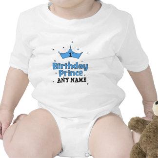 1r Príncipe del cumpleaños Traje De Bebé