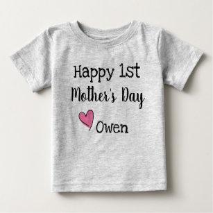 Camisetas Del Día Madres Para Bebés Zazzlees