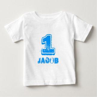 1ra camiseta del cumpleaños de Babys para un
