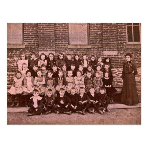 1ra clase del grado del león rojo de 1901 postales