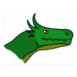 1ra edición del dragón feliz postal