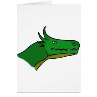 1ra edición del dragón feliz tarjeta de felicitación
