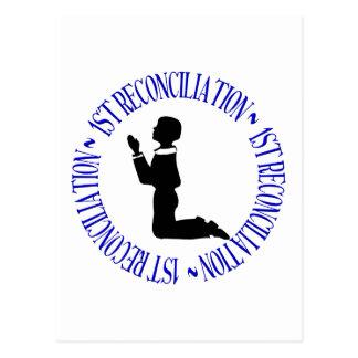 1ra reconciliación - primera confesión postal