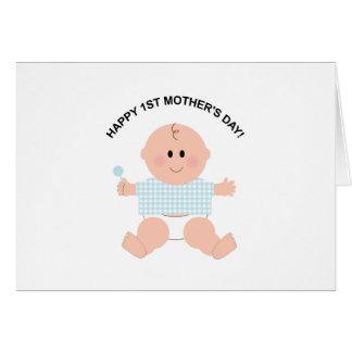 1ra tarjeta feliz del día de madre