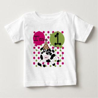 1ras camisetas y regalos del cumpleaños de la vaca