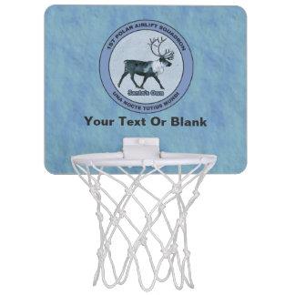 1ras escuadrillas polares del puente aéreo de mini tablero de baloncesto