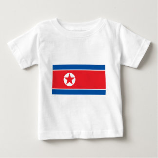 2000px-Flag_of_North_Korea Camiseta De Bebé