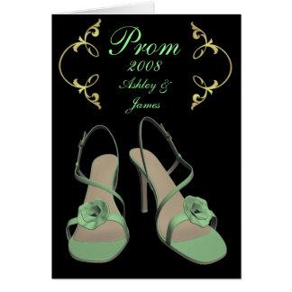 2008 tarjetas reales del baile de fin de curso