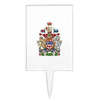 [200] Escudo de armas de Canadá [3D] Figuras Para Tartas