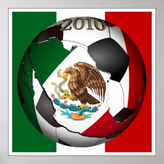 2010 balón de fútbol - México Impresiones