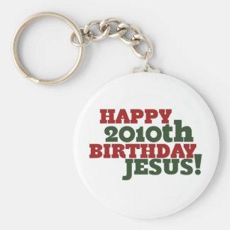 2010o cumpleaños feliz Jesús Llaveros Personalizados