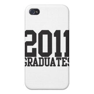 ¡2011 graduados en fuente enrrollada del bloque! iPhone 4 cárcasa