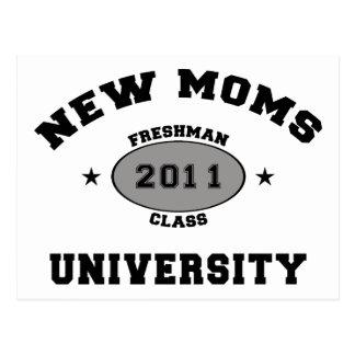 2011 nuevas mamáes tarjeta postal