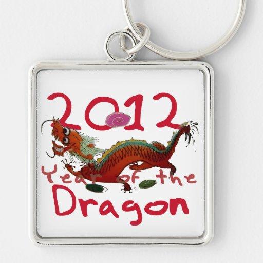 2012 - Año de dragón del th Llaveros