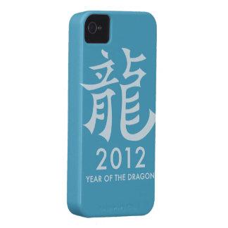 2012 años del caso del iPhone del símbolo del iPhone 4 Case-Mate Cárcasa