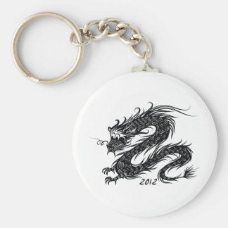 2012 Años Nuevos chinos, el año del dragón Llavero Personalizado