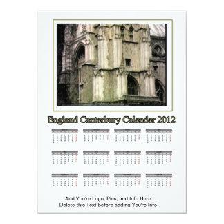 2012 calendario Inglaterra Cantorbery el MUSEO Invitación 13,9 X 19,0 Cm