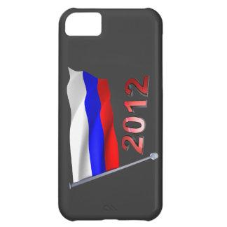 2012 con la bandera rusa