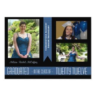 2012 invitación de la clase del graduado de las