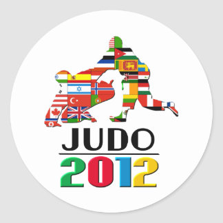 2012: Judo Pegatina Redonda