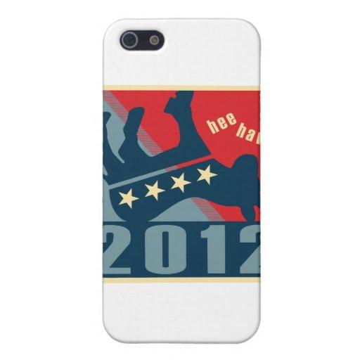 2012 ningunos Dems iPhone 5 Cárcasa