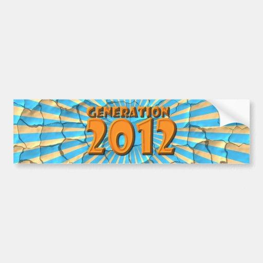 2012 ETIQUETA DE PARACHOQUE