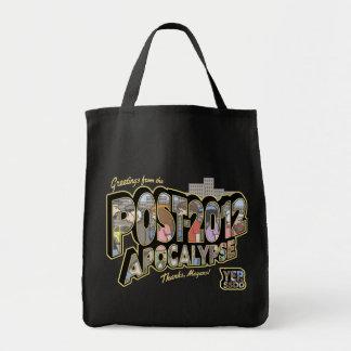2012-Post-Apocalypse Bolsa Tela Para La Compra