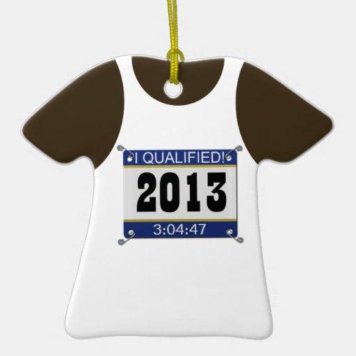 2013 califiqué el ornamento del personalizable de  adornos