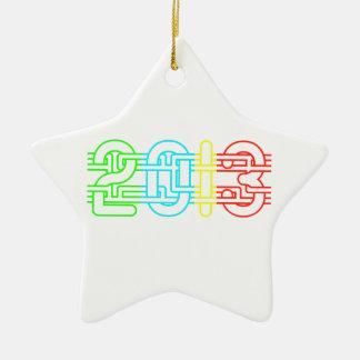 2013 colorido adornos