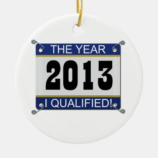 2013 el año califiqué el ornamento del babero ornamento para reyes magos