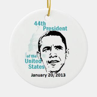 2013 inaugural adorno redondo de cerámica