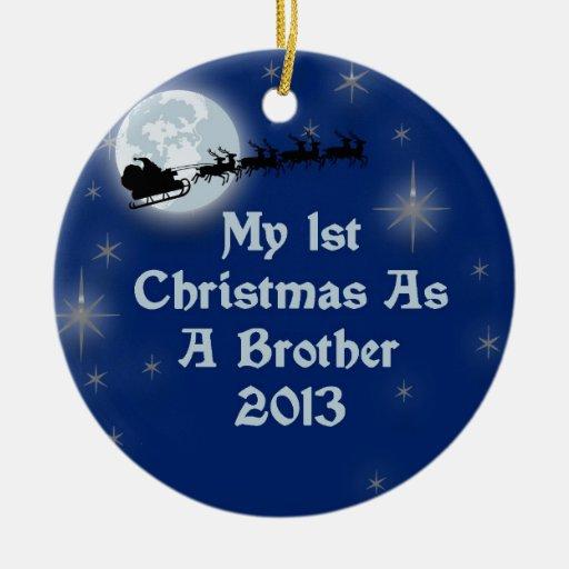 2013 mi 1r navidad como Brother Adorno
