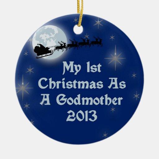 2013 mi 1r navidad como madrina adorno de reyes