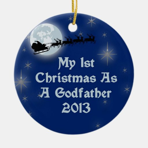 2013 mi 1r navidad como padrino ornamento para reyes magos