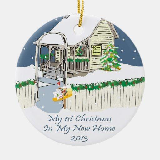 2013 mi nuevo navidad casero ornamento para arbol de navidad
