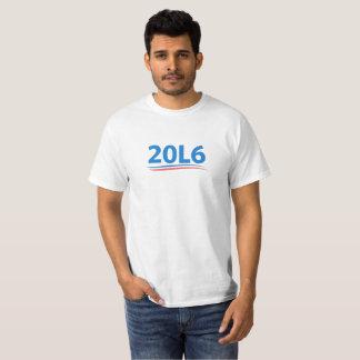 2016 L camisa