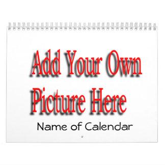 2017 añada su calendario y AÑO de las imágenes