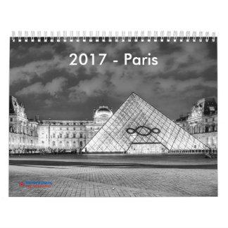 2017 calendario - París (información cultural
