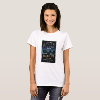 2017 eclipse solar total - Herrin, IL Camiseta