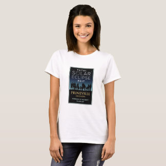 2017 eclipse solar total - Prineville, O Camiseta