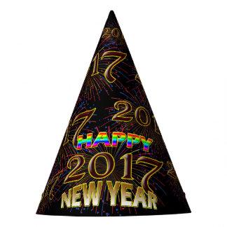 2017 Felices Año Nuevo de Eve de gorra único de la